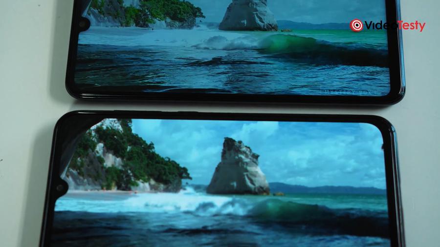 Porównanie ekranów zdecydowanie wypada na korzyść Mi 9 SE