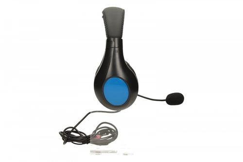 NATEC Słuchawki PANDA Black-Blue + mikrofon