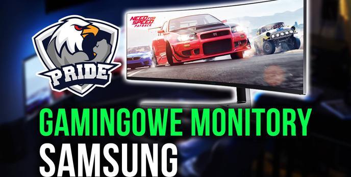 Nowe Monitory Gamingowe Samsung - Relacja!