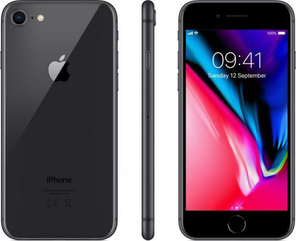 Apple iPhone8 256GBGwiezdna Szarość (MQ7C2)