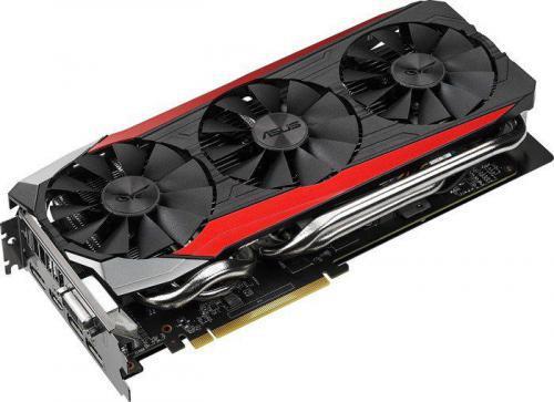 Asus Radeon R9 390 STRIX, 8 GB GDDR5, 512 Bit, DVI, HDMI, 3XDP, BOX (90YV08F0-M0NA00) STRIX-R9390-DC3OC-8GD5-GAMING