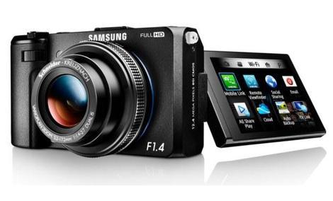 Nowy aparat SMART FOTO EX2F firmy Samsung - bardzo jasny obiektyw oraz funkcja łatwego udostępniania