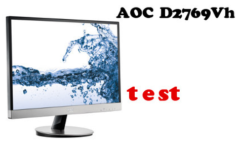 Z 2D do 3D - AOC D2769Vh - 3D na małym ekranie