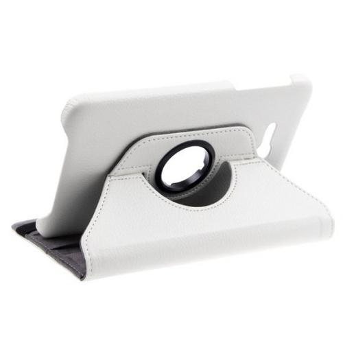"""WEL.COM Etui obrotowe 360° Galaxy Tab 3 7"""" Lite T110/T111 białe"""