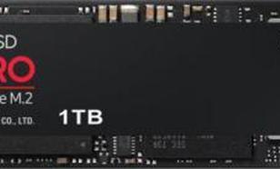 Samsung 970 PRO 1TB PCIe x4 NVMe (1TB-MZ-V7P1T0BW)