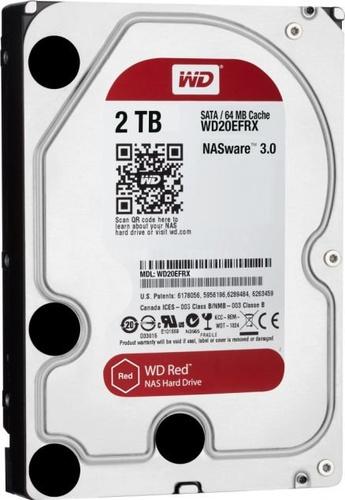 Western Digital Red 2TB 3.5 SATA 6GB/s 64MB (WD20EFRX)