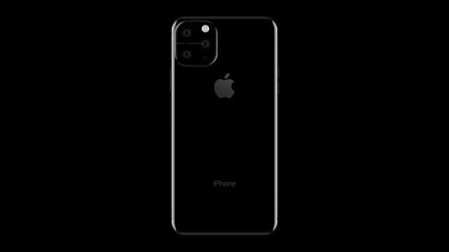 Tak może wyglądać tył iPhone'a 11 (źródło: twitter @onleaks)