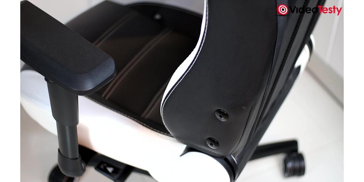 Vertagear PL6000 - łączenie oparcia do siedziska