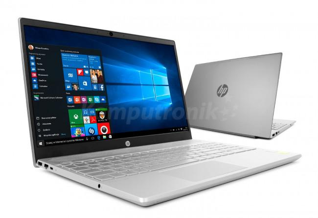 HP Pavilion 15-cs1001nw (5MM68EA) - Srebrny - 16GB