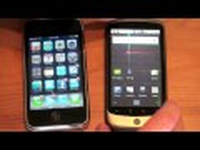 Google Nexus One vs. iPhone 3GS