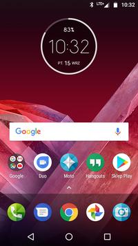 Moto Z2 Play - ekran główny
