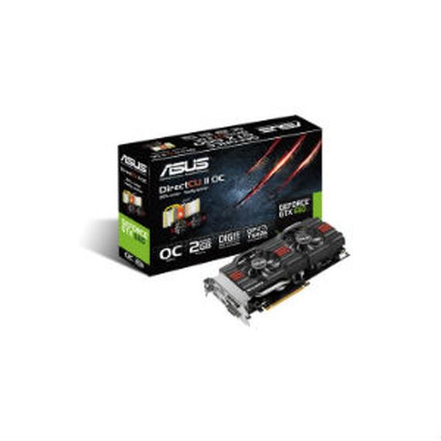 Asus GTX660 DirectCU II OC