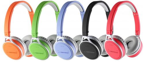 ESPERANZA Słuchawki BLUETOOTH 2.1 EH160R YOGA CZERWONE
