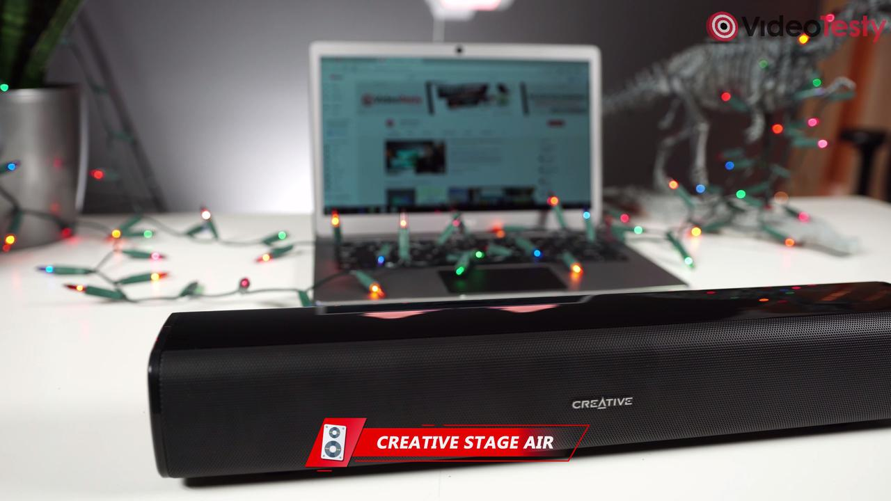 Creative Stage Air to mini soundbar o sporych możliwościach