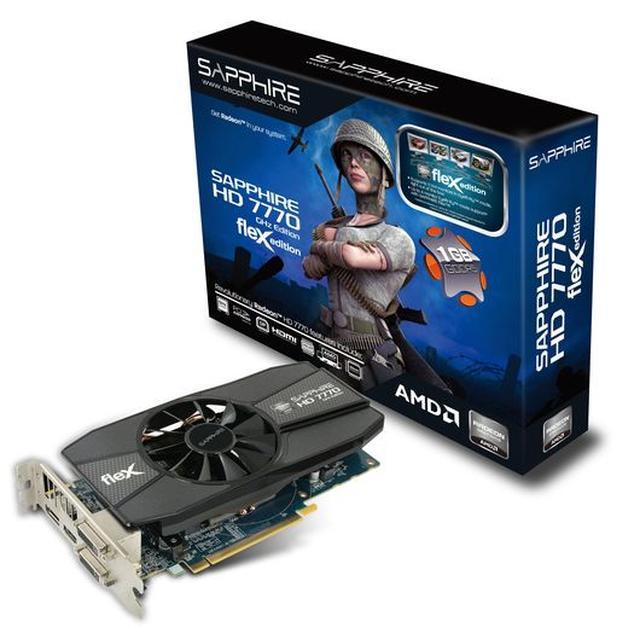 AMD Eyefinity w zasięgu każdego gracza z kartą SAPPHIRE HD 7770 FleX