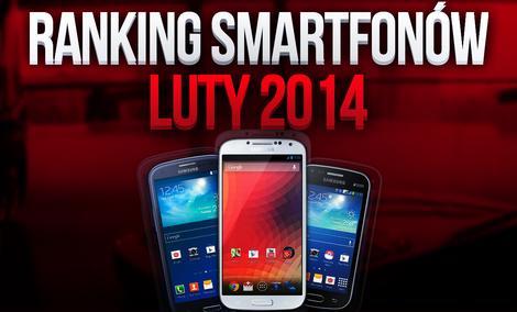 Najpopularniejsze telefony komórkowe - ranking luty 2014