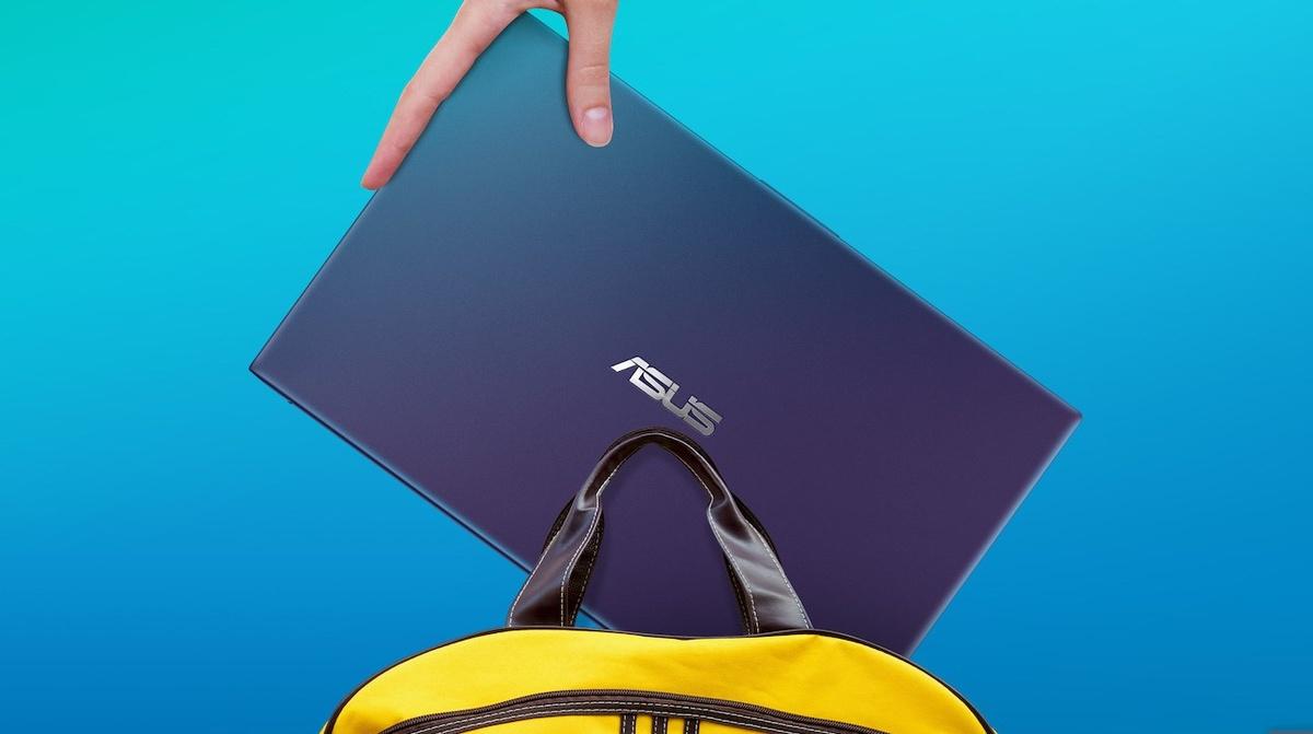 Asus Vivobook zmieści się w plecaku dzięki kompaktowej obudowie
