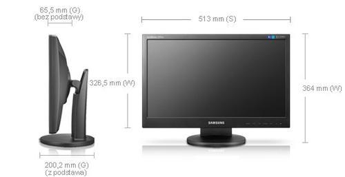 Samsung 21.5'' LCD wide 5ms 50000:1 DVI czarny (2243SW)