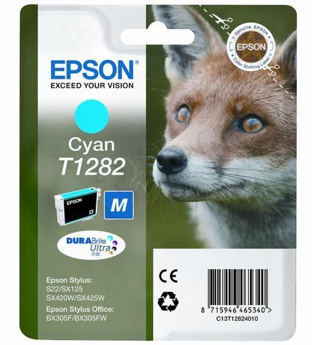 EPSON Tusz Niebieski T1282=C13T12824011, 3.5 ml