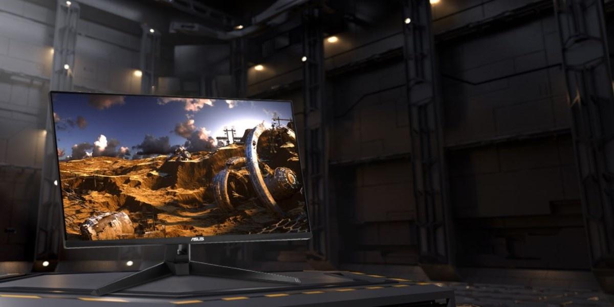 Monitor Asus TUF Gaming VG289Q1A w hangarze