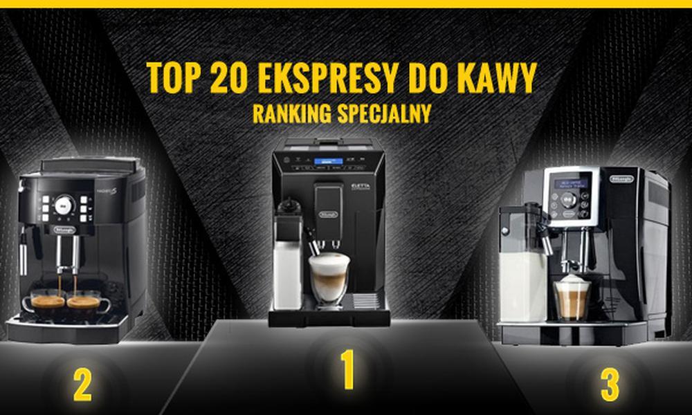 Ranking TOP 20 Czołowych Ekspresów do Kawy - Zobacz Zanim Kupisz!