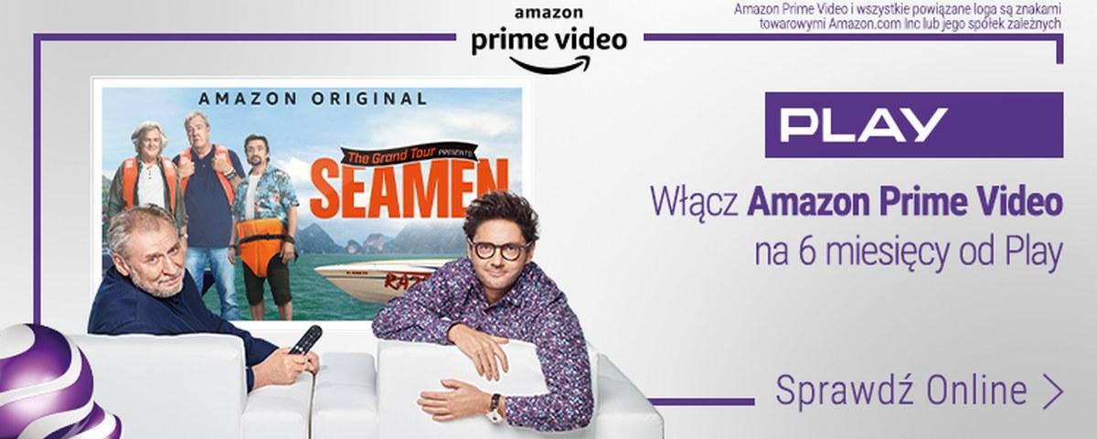 Amazon Prime Video w Play będzie dostępny za darmo przez pół roku