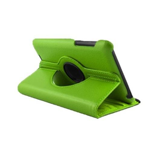 WEL.COM Etui obrotowe 360 stopni Asus Google Nexus 7 zielone