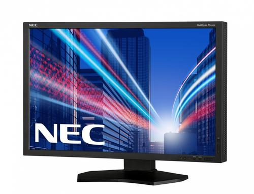 "NEC 24"" LED PA242W-SV2 bk display port, HDMI,"