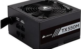 Corsair TXM Series 550W 80 Plus Gold efficiency