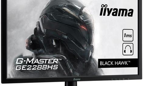 Rodzina Monitorów Dla Graczy Iiyama G-MASTER Powiększa Się o Black Hawk