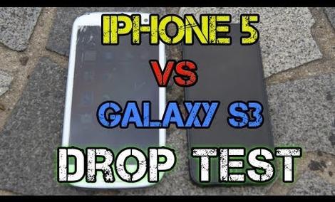 iPhone 5 vs Samsung Galaxy S3 - test wytrzymałości