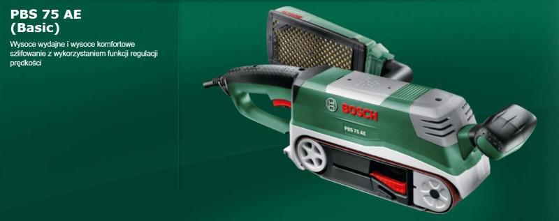 Bosch PBS 75AE ma funkcję regulacji prędkości