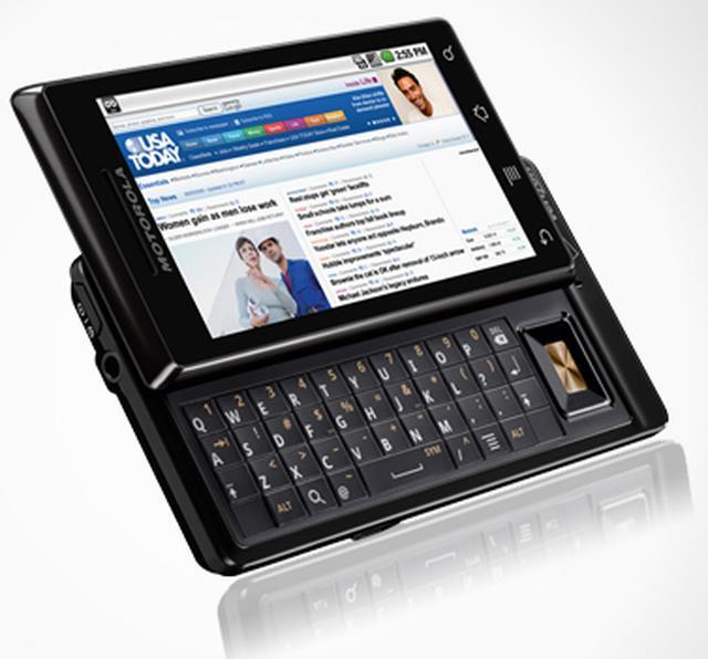 Motorola Milestone - pierwsza polskojęzyczna prezentacja