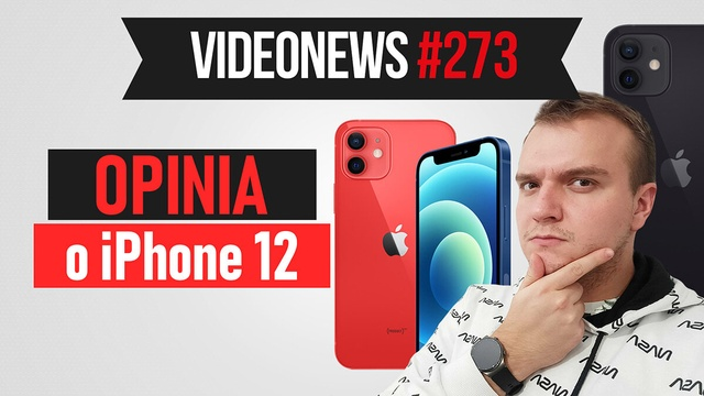 Premiera iPhone 12, interfejs PS5, nietypowy aparat - VideoNews #273