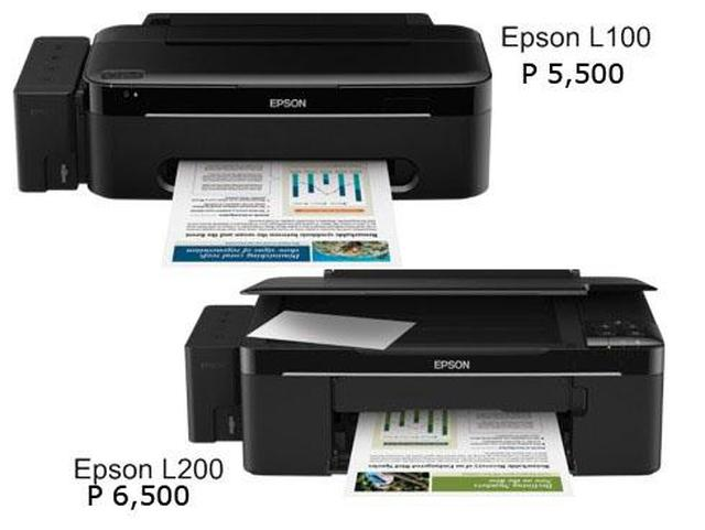 Epson L100 i L200 - innowacyjne drukarki
