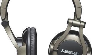 Shure SRH550DJ czarno-brązowe