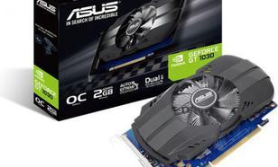 Asus GT 1030 Phoenix OC 2GB GDDR5 (64 bit), DVI-D, HDMI, BOX (PH-GT1030-O2G)