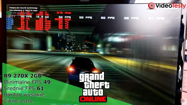 Wydajność GTA online