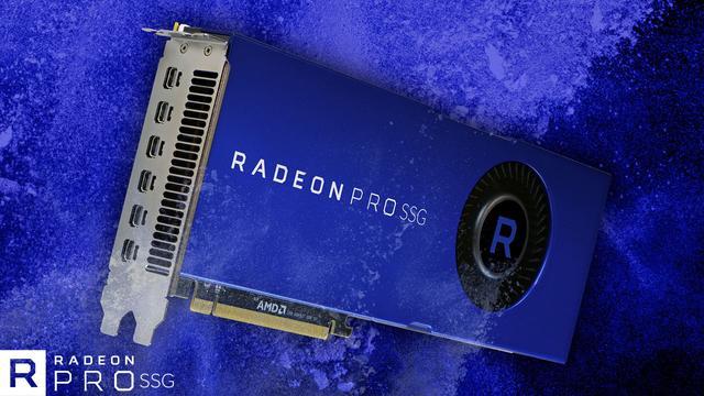 Premierę miała również karta Radeon Pro SSG