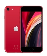 iPhone SE czerwony