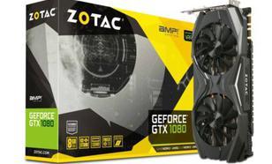Zotac GeForce GTX 1080 AMP! 8GB GDDR5X (256 Bit) HDMI, DVI, 3x DP, BOX (ZT-P10800C-10P)