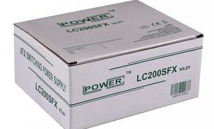 LC-Power ZASILACZ 200W LC200SFX V3.21 SFX 3x SATA 80mm FAN PFC