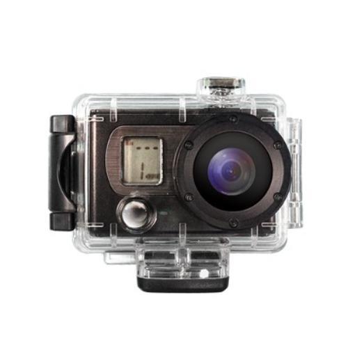 PQI Kamera Air Cam V100 5M 1080P WATER Sport + 4GB SDHC cl10; dla aktywnych; wyjście USB2.0/ HDMI