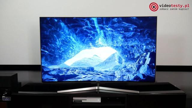 Samsung UE55MU9002 przyzwoita jakość obrazu 4K z HDR