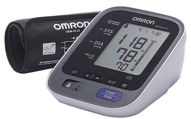 kompaktowy ciśnieniomierz Omron M6 Comfort