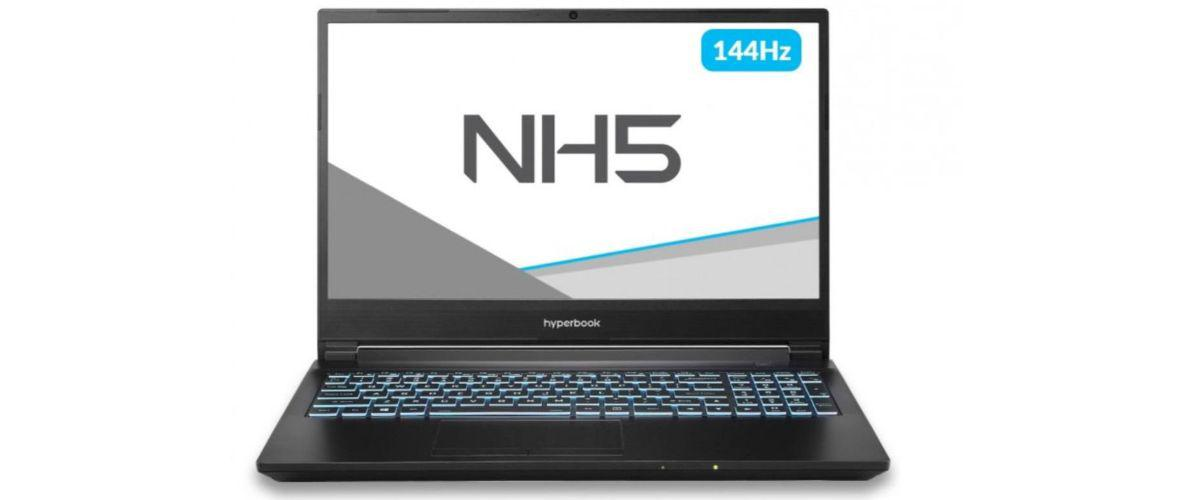 Hyperbook NH5 - front