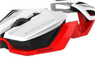 Mad Catz R.A.T. 1 WHITE/RED ( MCB437260001)