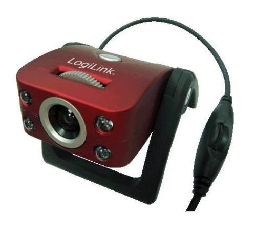 LogiLink Kamera internetowa USB 2.0 z mikrofonem