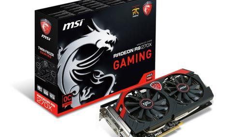 Możemy już nabyć nową kartę graficzną MSI R9 270X GAMING 4G