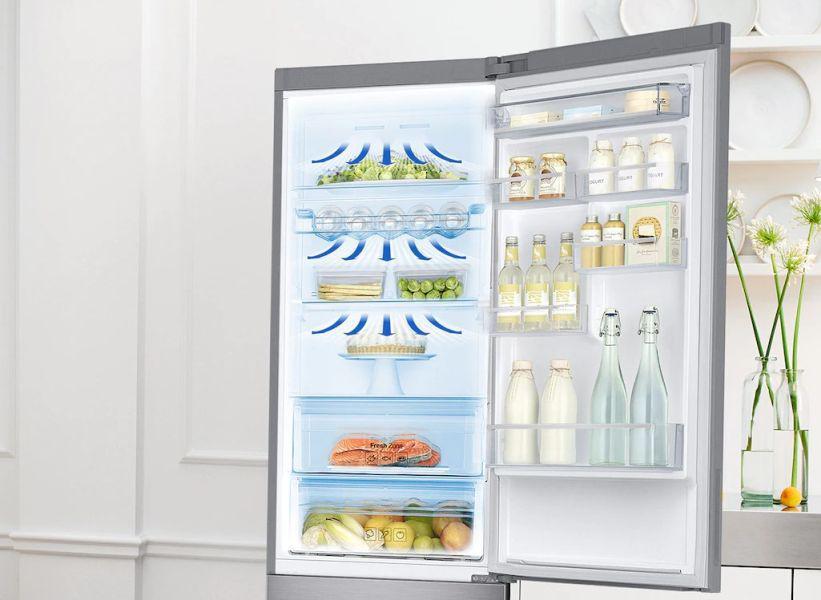 Samsung RB34N5000SA chłodzenie